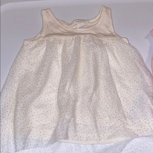 GAP Shirts & Tops - Baby gap glitter tulle tops 18-24 months